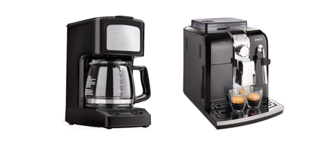 Espresso and coffee machine comparison