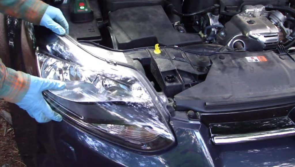 how to change a headlight