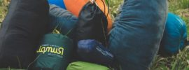 Best Backpacking Pillows new released in 2019, all on gorund in a bundle