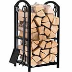 Indoor firewood rack by Amagabeli garden and home table