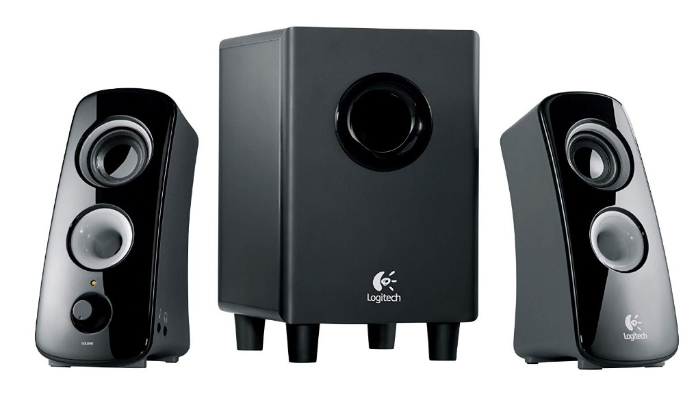 Logitech Speaker System Z323 with Subwoofer Review