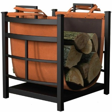 Panacea Products 15245 Mission Log Bin with Log Carrier REview