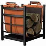 Panacea Products 15245 Mission Log Bin with Log Carrier table