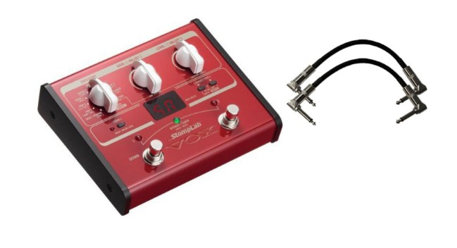 Vox Stomplab 1B Bass Effects pedal, 60 effects Patch Cables Review