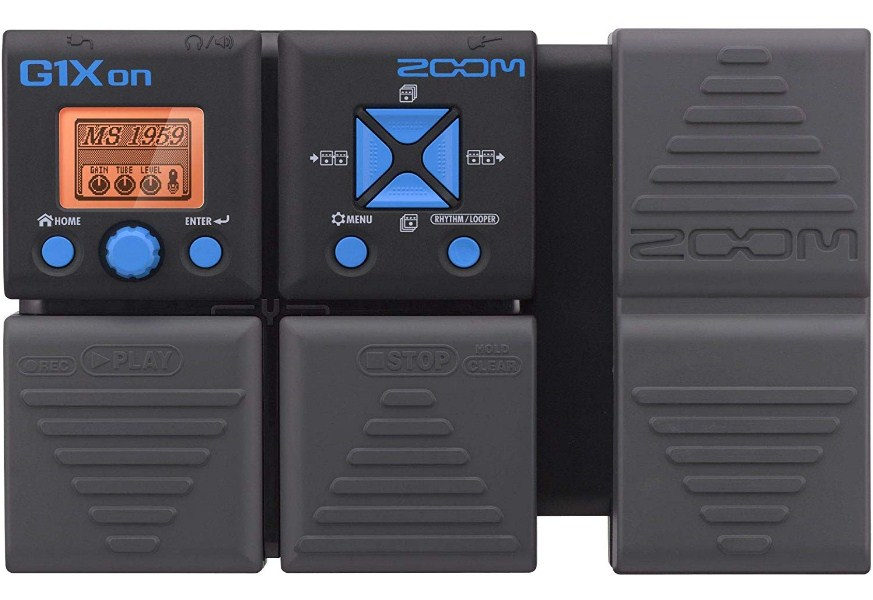 Zoom G1Xon Guitar Effects Pedal with Expression Pedal Finest One