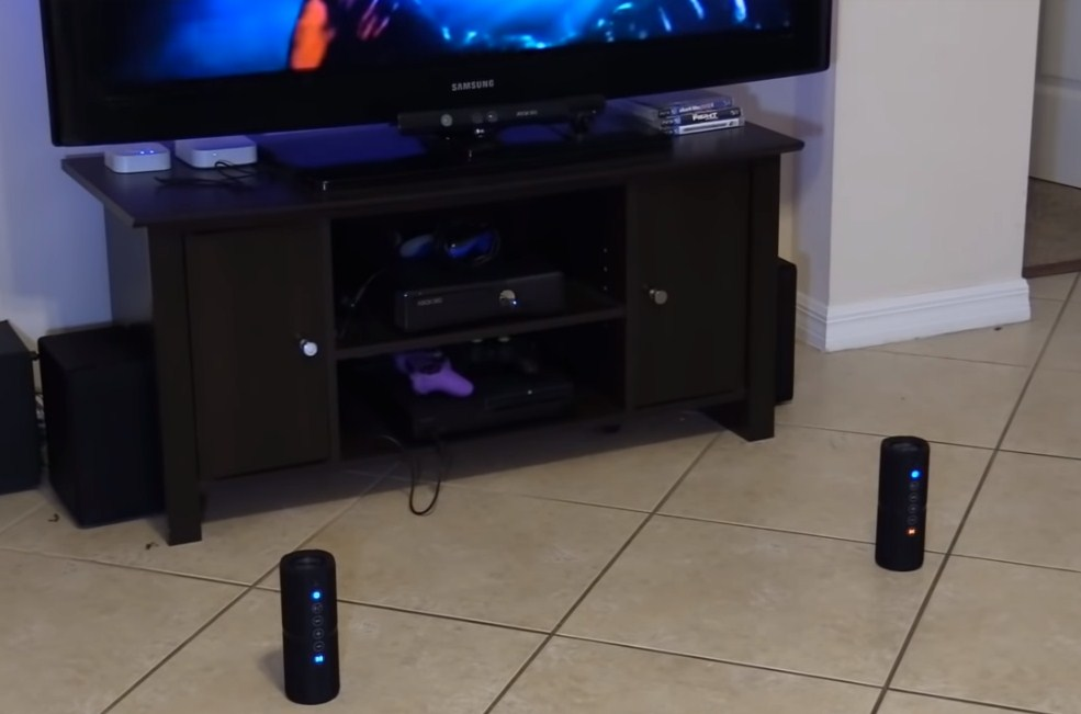 Bluetooth speakers working with tv