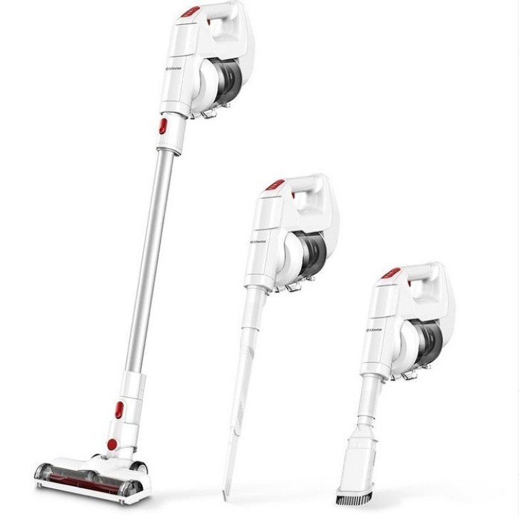 These are cordless vacuumm cleaners