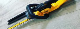 Best Cordless Hedge Trimmer Featured DCHT820P1 Dewalt