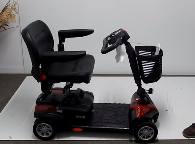 Drive Medical Scout Compact Travel Power Mobility Scooter