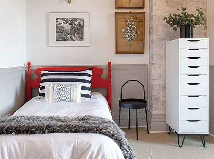 A small bedroom design in a good budget