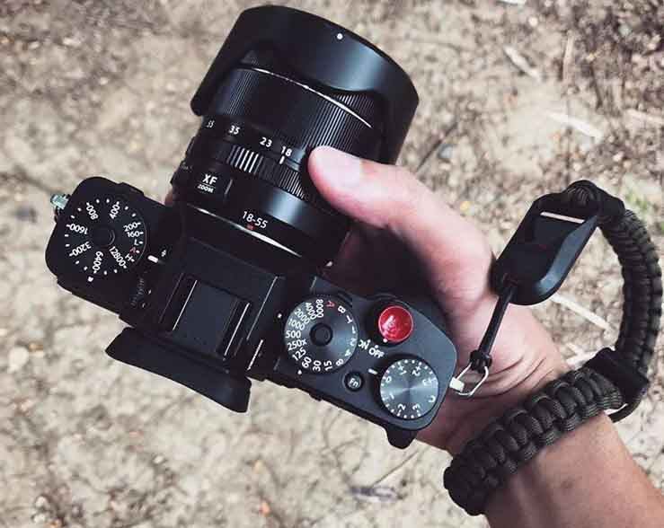 Wrist strap on your camera