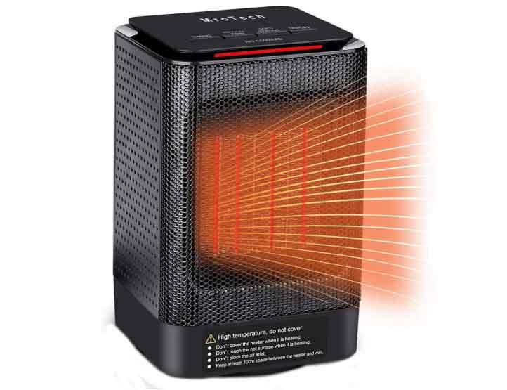 MroTech 950W Ceramic Space Heater