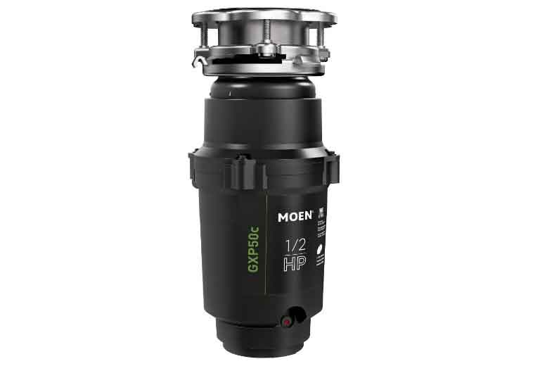 Moen GXP50C GX PRO Series 0.5 HP Continuous Feed Garbage Disposal